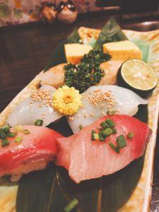 寿司6種盛り合わせ